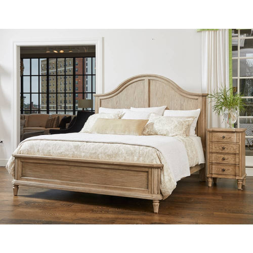 European Cottage Panel Bed
