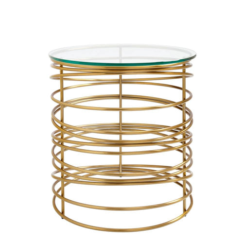 Latitude Round Lamp Table