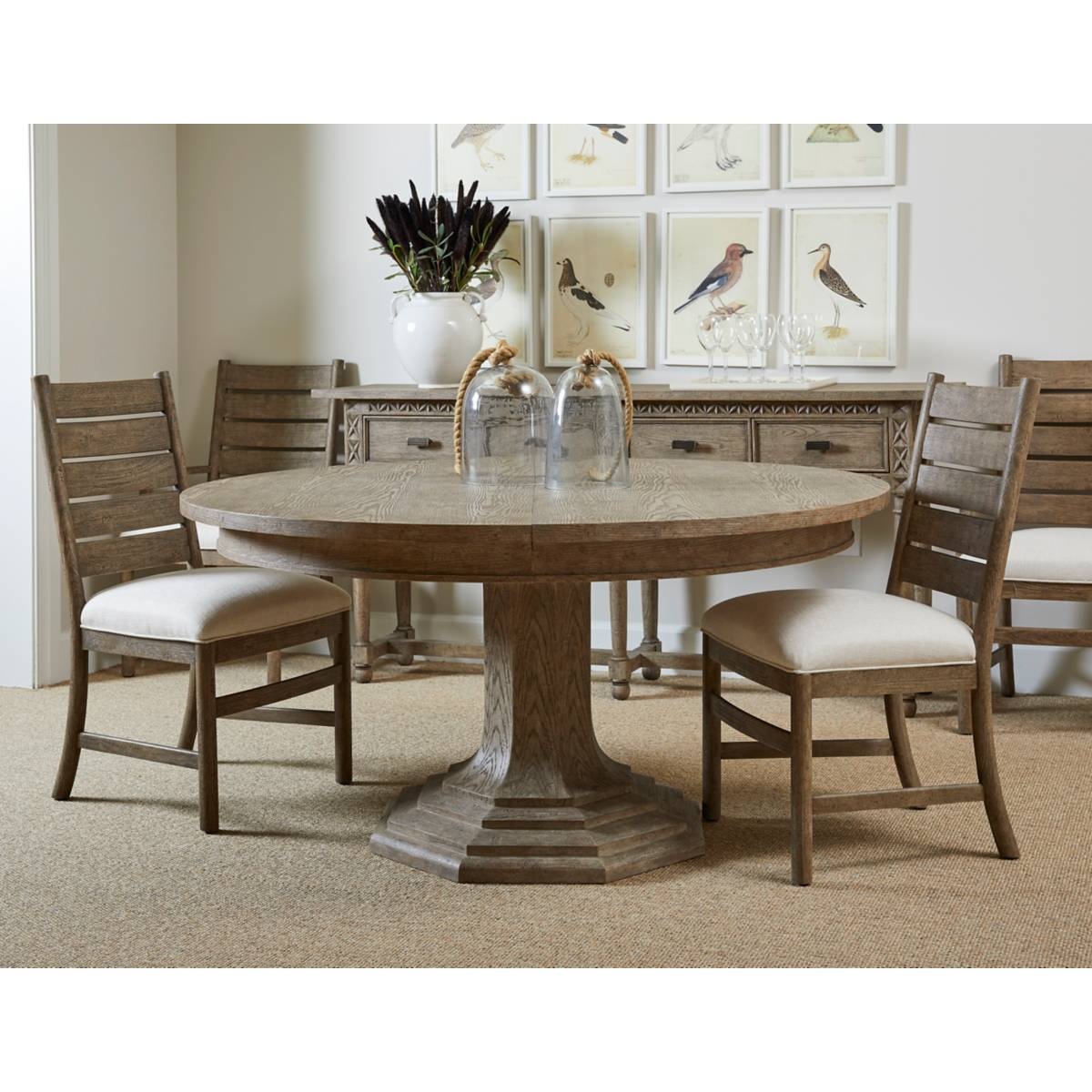 Portico 60 Round Dining Table Stanley Furniture