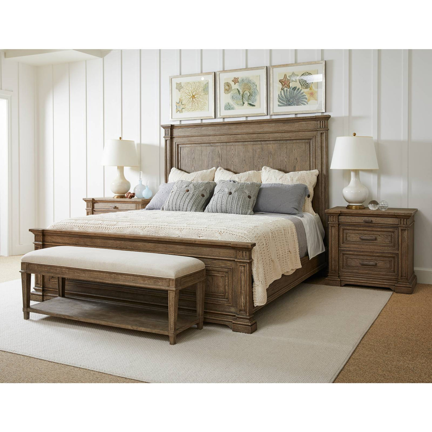 Portico Bed End Bench Stanley Furniture
