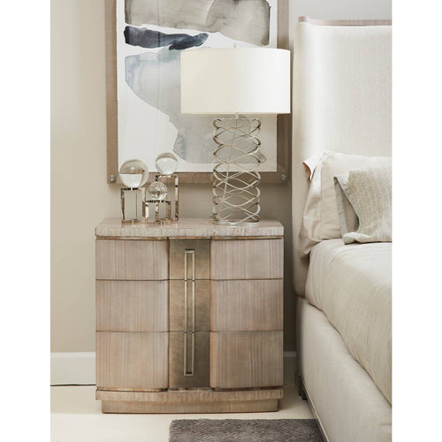 Revival California Block Front Nightstand