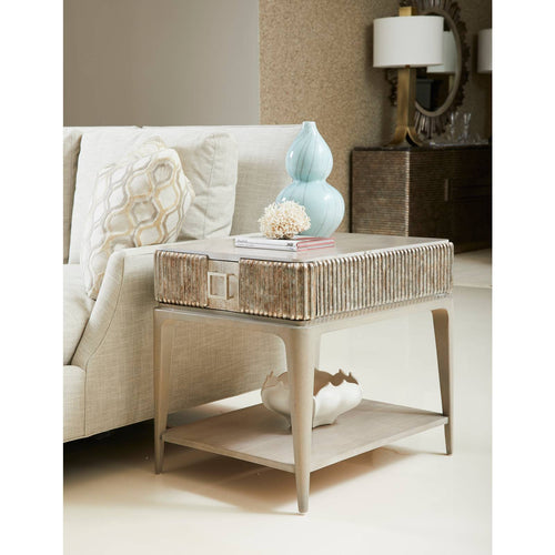 Revival Fluted End Table