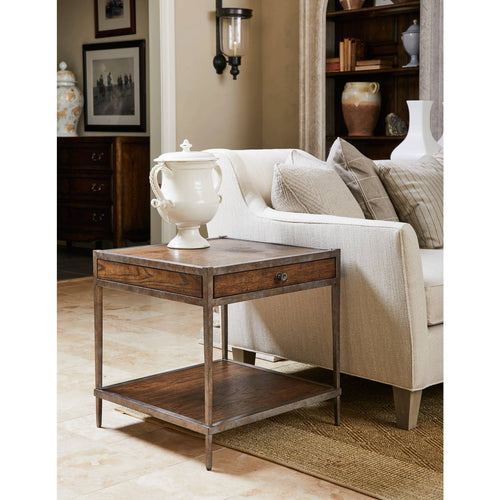 Thoroughbred Eclipse End Table Square
