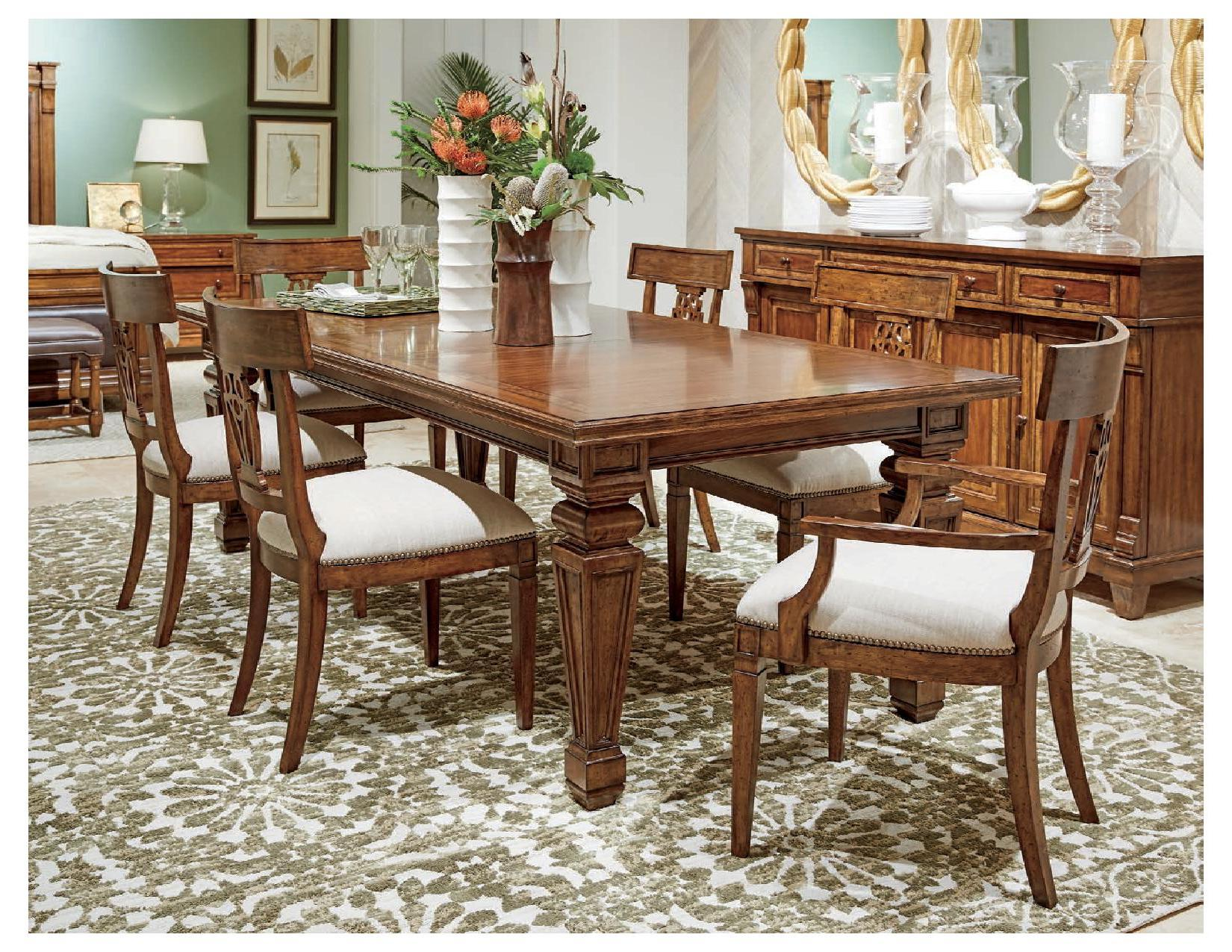 Old Town Rectangular Dining Table Stanley Furniture