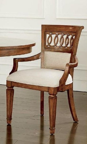 Old Town Upholstered Back Arm Chair