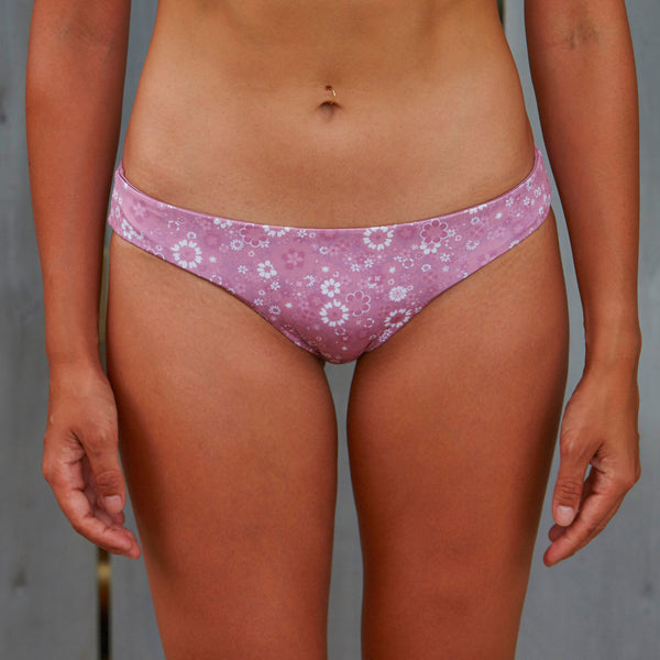 Retro Flower Bottom PNK