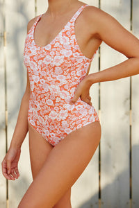 Retro Flower One-Piece ORG
