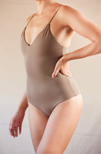 ♻Triangle One-Piece Grayish