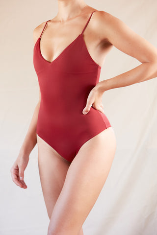 ♻Triangle One-Piece Berry