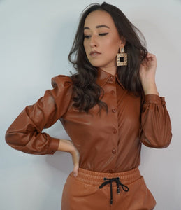 CAMASA 'BROWN LEATHER'