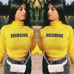 'ROCKMORE YELLOW' TOP