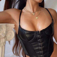 Load image into Gallery viewer, CORSET 'LEATHER QUEEN'