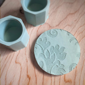 Damask Coaster - set of 4