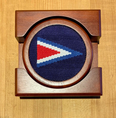 LGC Custom Needlepoint Coasters by Smathers & Branson