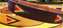Load image into Gallery viewer, Smathers & Branson Needlepoint Belt