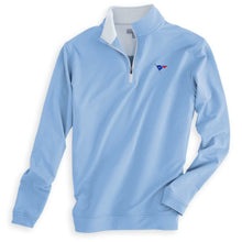 Load image into Gallery viewer, Peter Millar Men's Perth Stretch Loop Terry Performance 1/4 Zip
