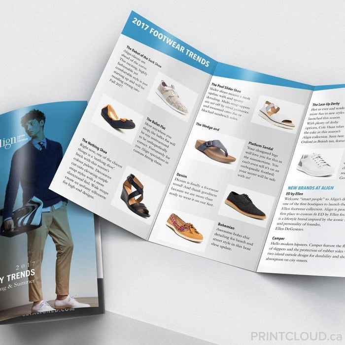Paper - Folded Brochure Printing - Sale