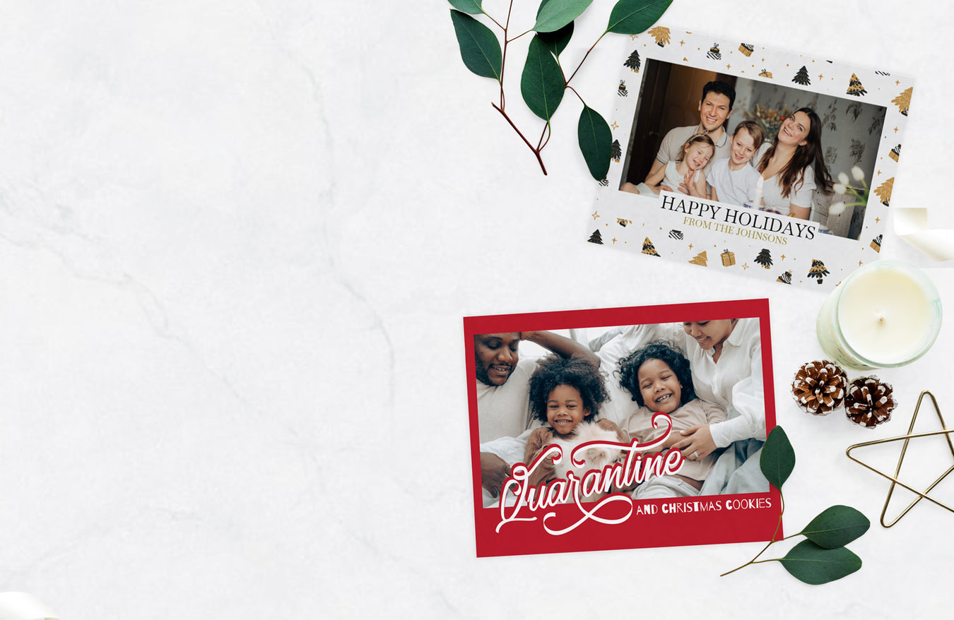 Keep Spirits High with Custom Holiday Cards