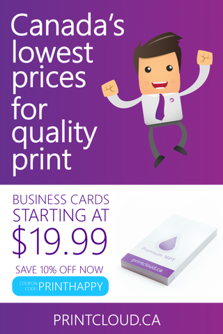 Advertisement - Canada's Lowest Price for Quality Print