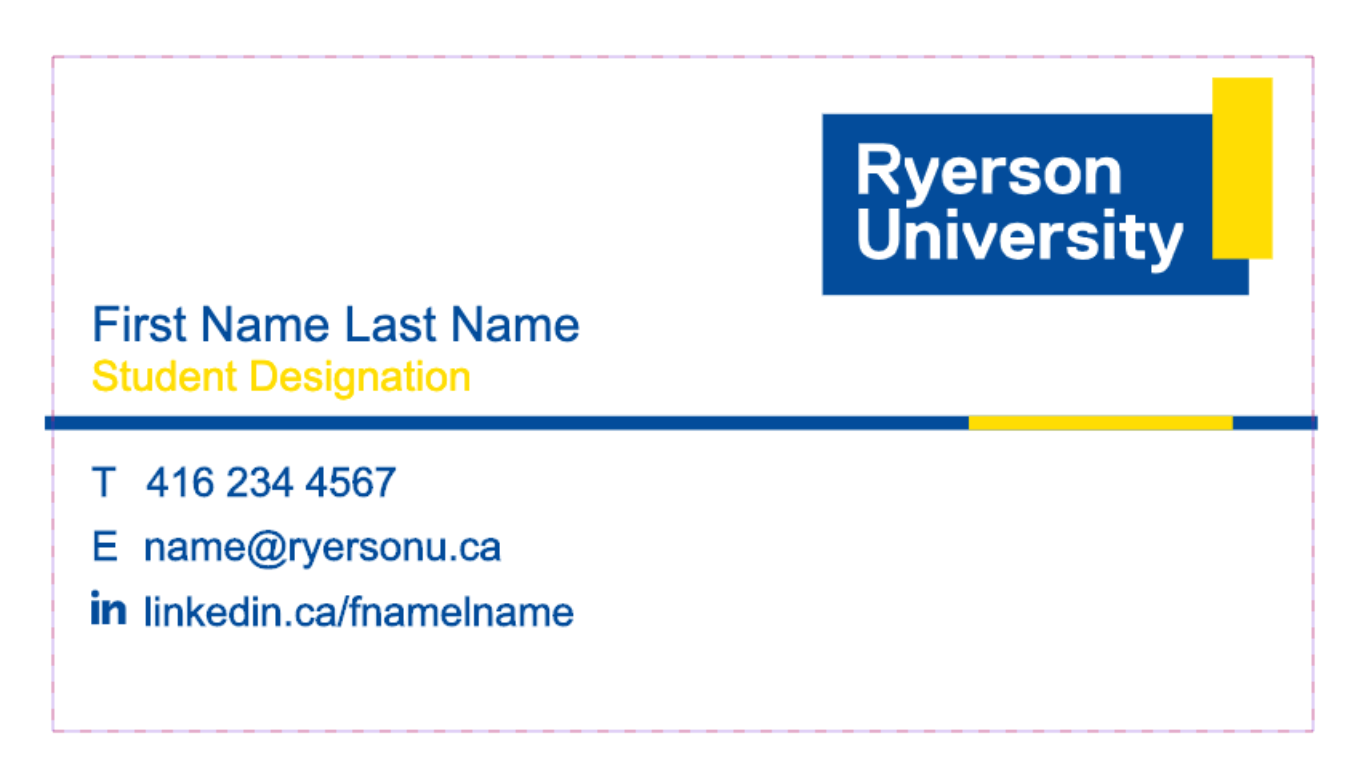 Ryerson - Premium Business Cards