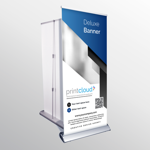 Deluxe Pop Up Banner Stand
