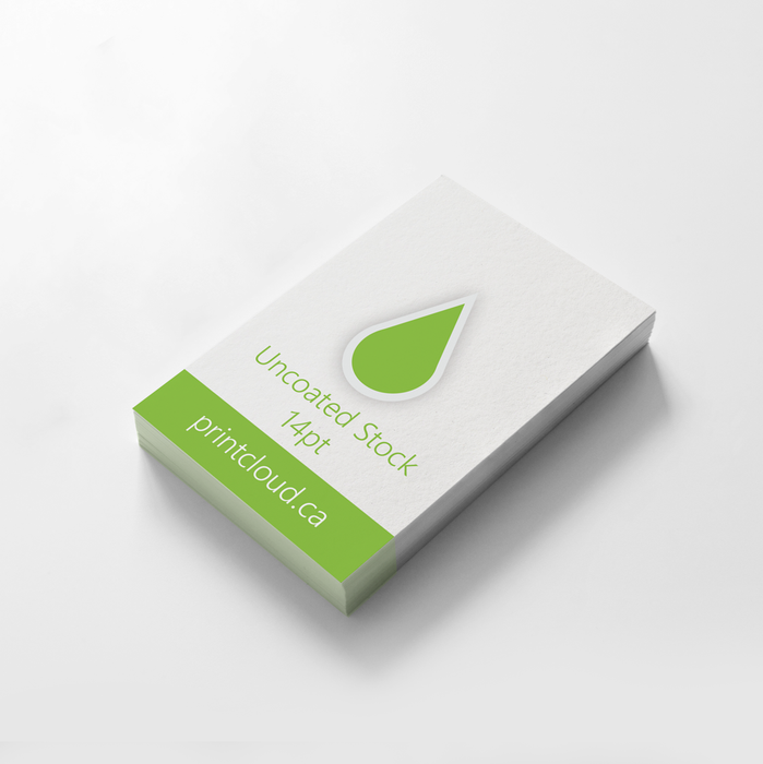 Eco Uncoated Business Cards Canada