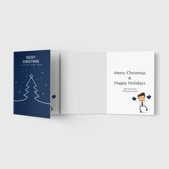 Matte Satin Greeting Cards