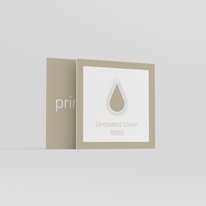 Linen Square Business Cards