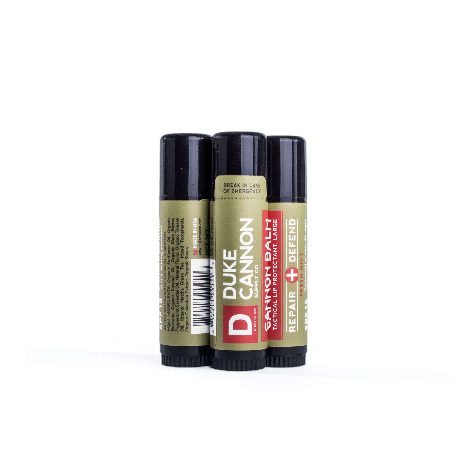 Duke Cannon Tactical Lip Protectant