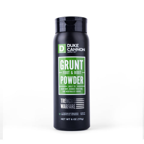 Duke Cannon Grunt Foot And Boot Powder