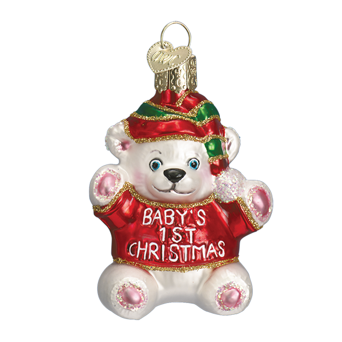 Old World Christmas - Baby's First Christmas Ornament