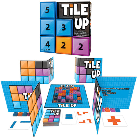 Tile Up - A Tantalizing Game of Numbers, Shapes & Tiles!