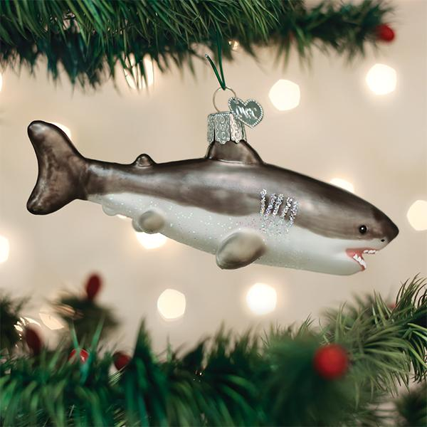 Old World Christmas - Great White Shark
