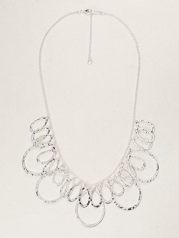 Holly Yashi Fantasy Necklace - Silver