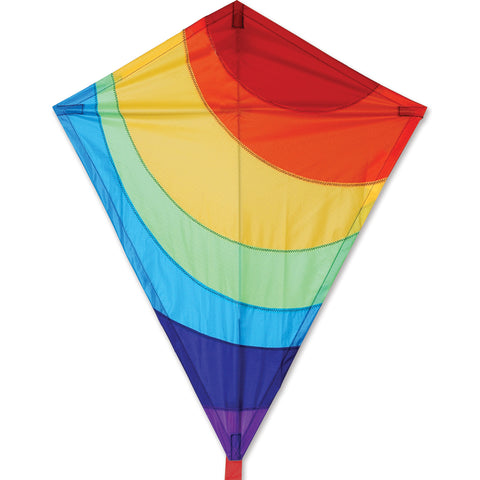 "Rainbow 25"" Diamond Kite"