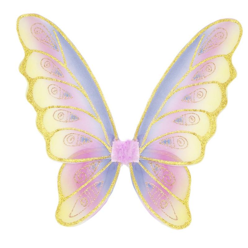 Glitter Rainbow Wings - Rainbow Pastel