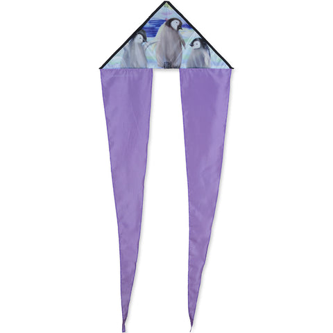 Penguins Zippy Flo-Tail Delta Kite