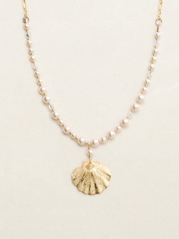 Holly Yashi Shelby Beaded Necklace - Gold