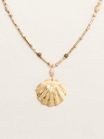 Holly Yashi Shelby Shores Beaded Necklace - Gold
