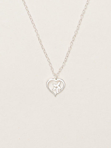 Holly Yashi True Love Necklace - Silver