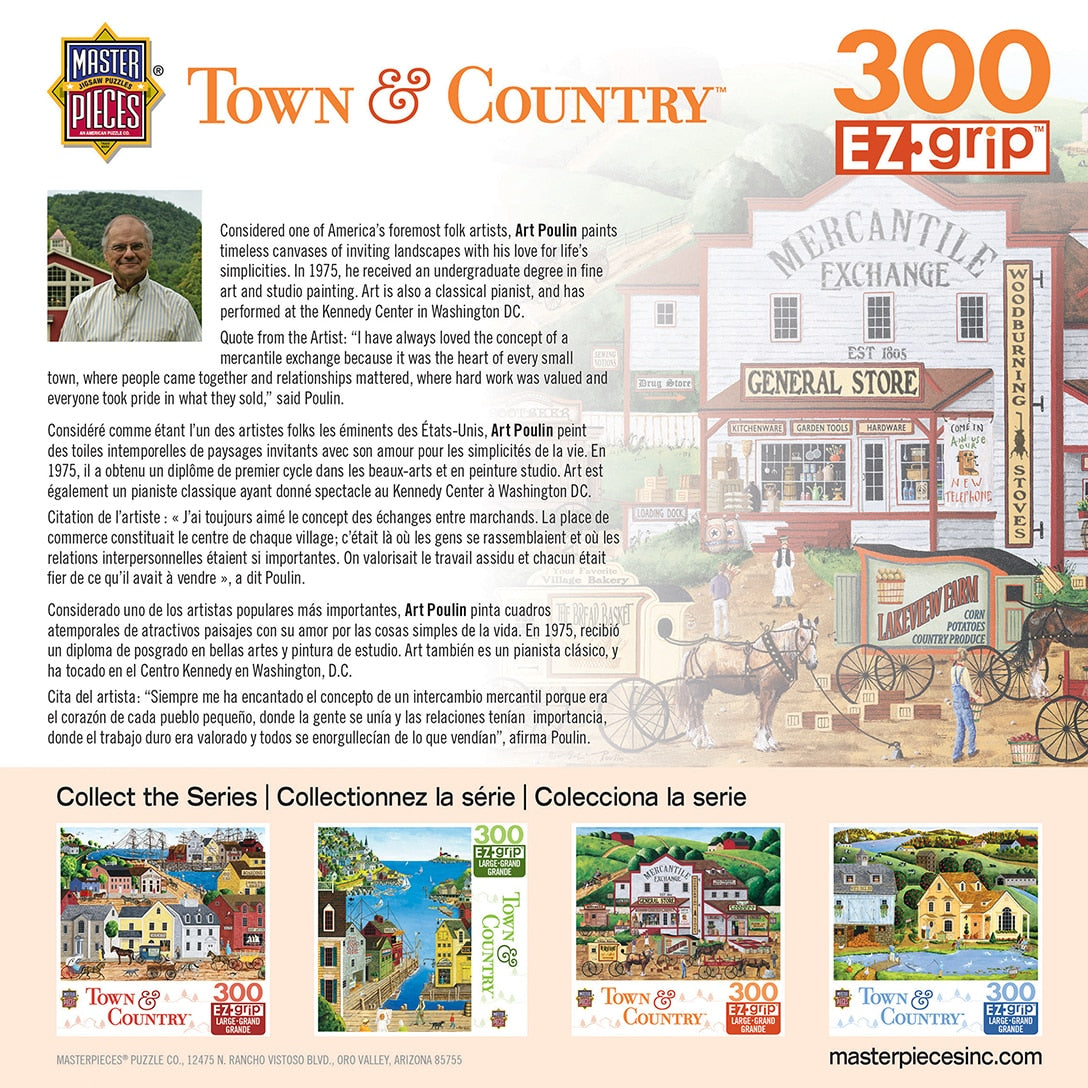 Town & Country - Morning Deliveries 300 Piece Large Format Puzzle