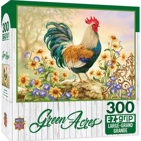 Green Acres - Morning Glory Large Format 300 Piece Puzzle