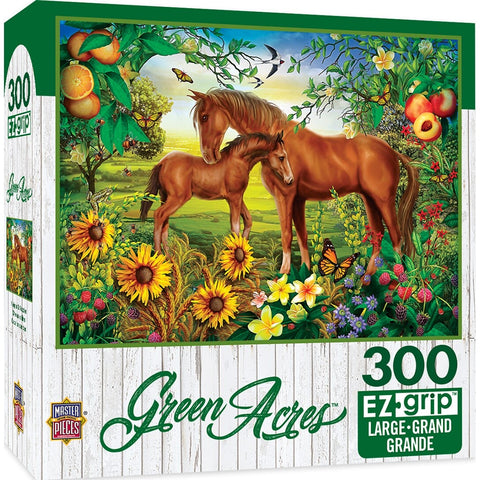 Green Acres - Neighs & Nuzzles Large Format 300 Piece Puzzle