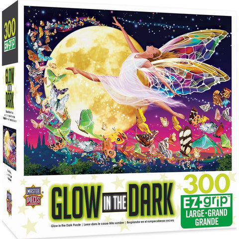 Glow In The Dark Moon Fairy Large Format 300 Piece Puzzle