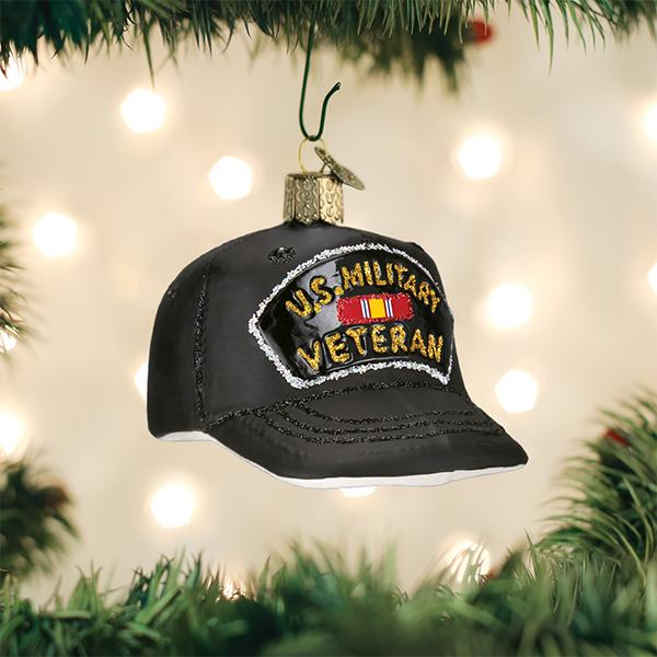 Old World Christmas - Veterans Cap
