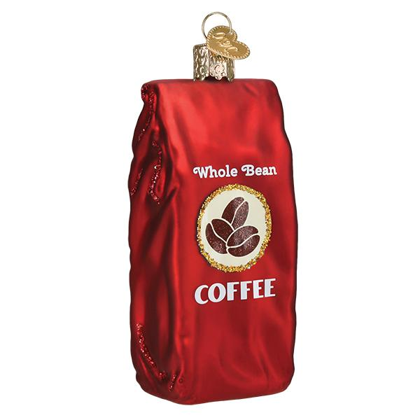Old World Christmas - Bag Of Coffee Beans
