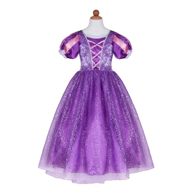 Deluxe Rapunzel Dress Size 7-8