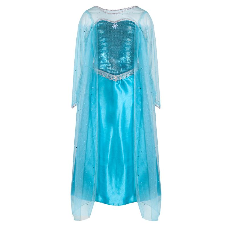 Ice Queen Dress With Attached Cape Size 3-4
