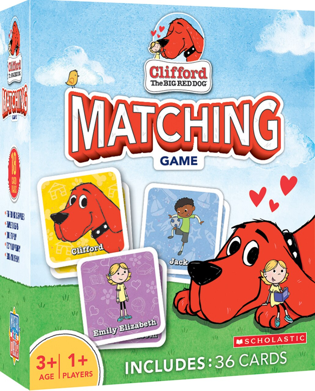 Clifford The Big Red Dog Matching Game