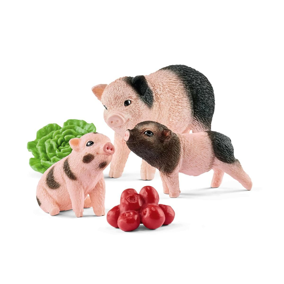 Schleich Miniature Mother Pig With Piglets